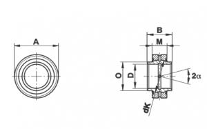 Bạc cầu loại GE…HO-2RS